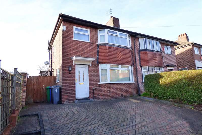 3 Bedrooms Semi Detached House for sale in Whernside Avenue, Moston, Manchester, M40