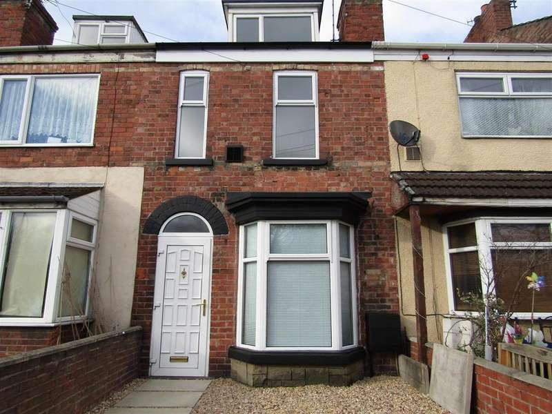 2 Bedrooms Terraced House for sale in Marlborough Street, Gainsborough, DN21 1BT