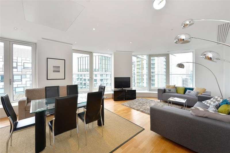 2 Bedrooms Flat for sale in Ability Place, Canary Wharf, London