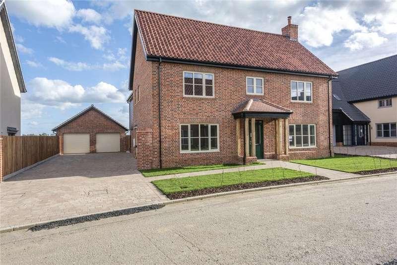 4 Bedrooms Detached House for sale in Plot 10 Newlands Gate, Bunwell Road, Spooner Row, Wymondham, NR18