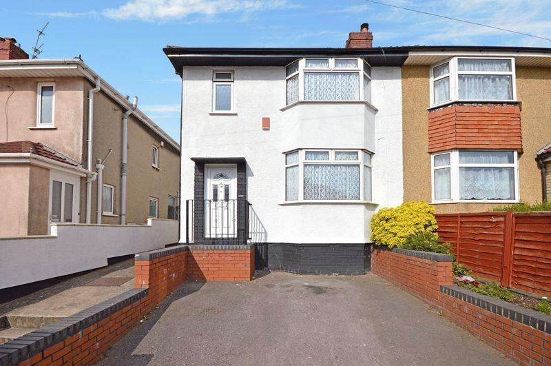 3 Bedrooms Semi Detached House for sale in Cadogan Road, Hengrove, Bristol