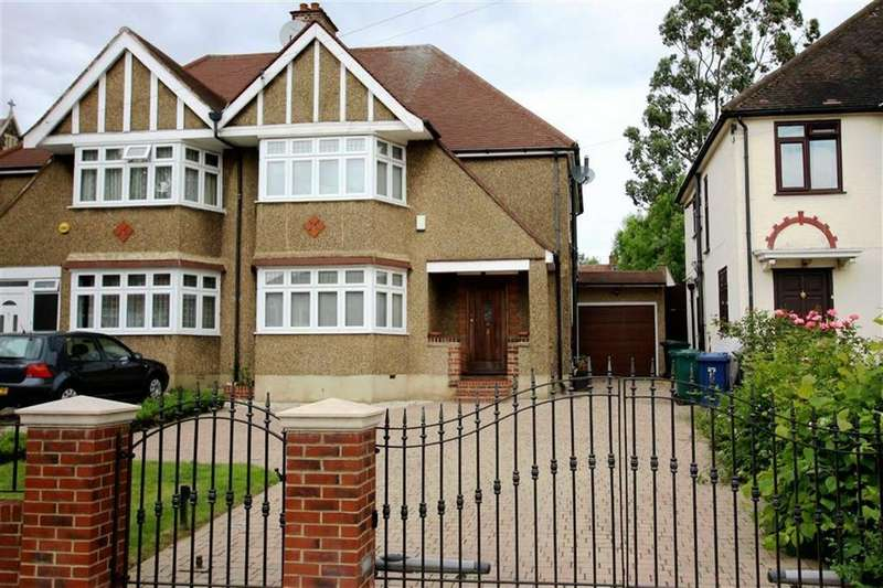 3 Bedrooms Semi Detached House for sale in Sandringham Gardens, North Finchley, London
