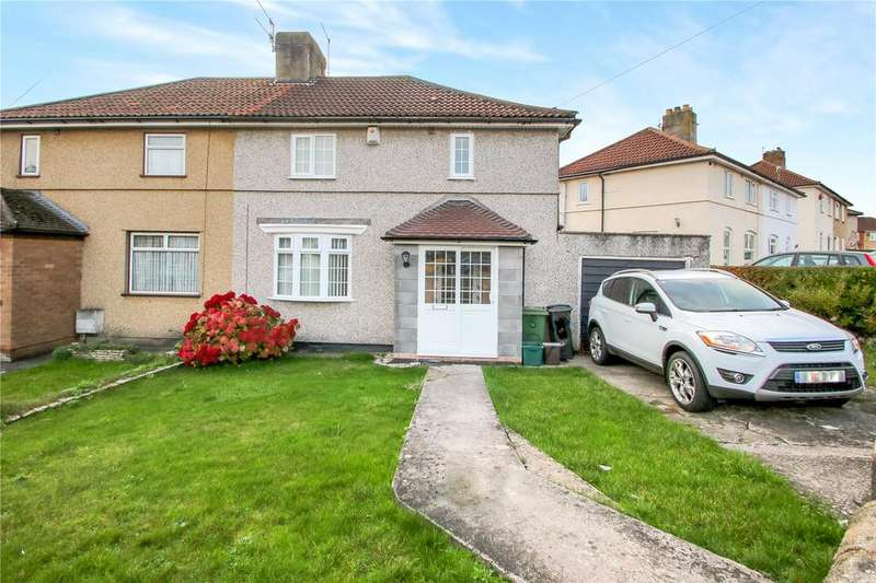 3 Bedrooms Semi Detached House for sale in Lulsgate Road, Bedminster Down, Bristol, BS13