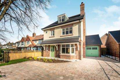 4 Bedrooms Detached House for sale in Minshull Court, Chesterfield Road, Crosby, Liverpool, L23