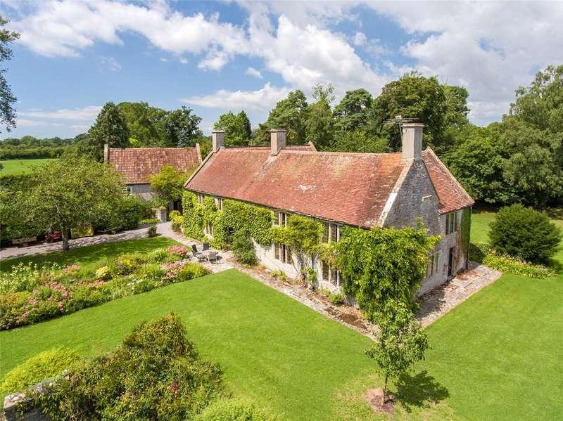 6 Bedrooms Detached House for sale in Lottisham, Glastonbury, Somerset
