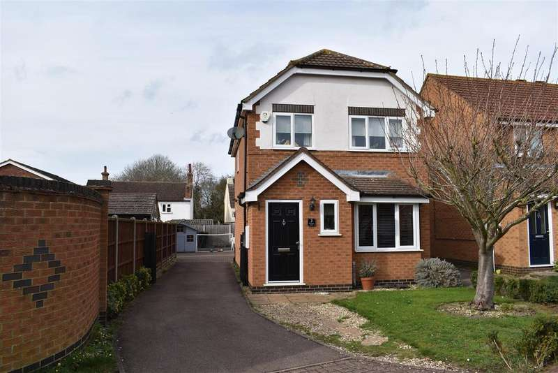 3 Bedrooms Detached House for sale in Rowan Way, Cranfield, Bedford