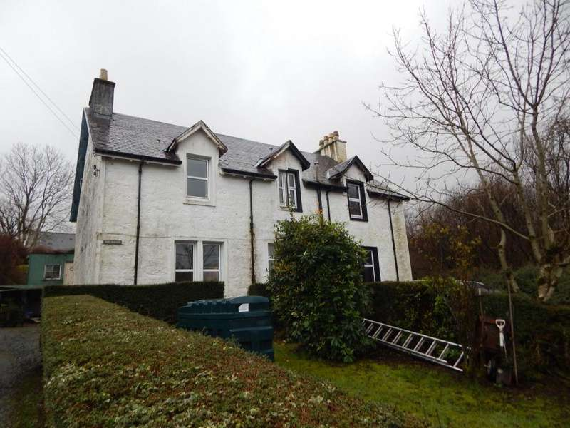 3 Bedrooms Semi Detached House for sale in Carbost, Isle of Skye IV47