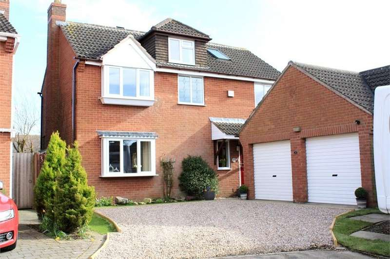 5 Bedrooms Detached House for sale in Mackaness Close, Gilmorton, Lutterworth, Leicestershire