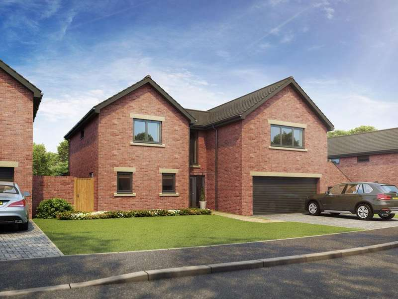 4 Bedrooms Detached House for sale in Woodburn Gardens, Salutation Road, Darlington