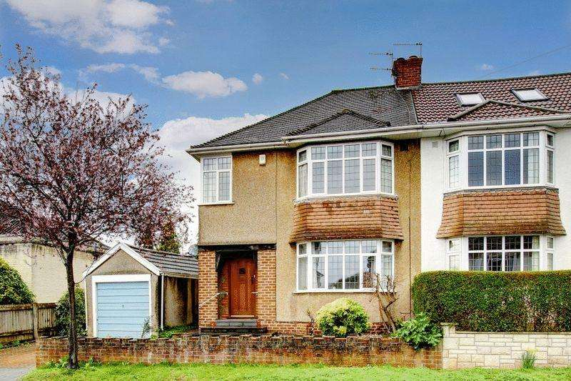 3 Bedrooms Semi Detached House for sale in Sandyleaze, Westbury-on-Trym