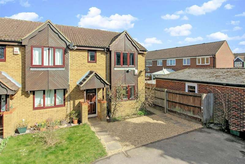3 Bedrooms End Of Terrace House for sale in Dearing Close, Aylesbury