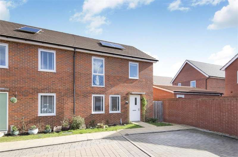 3 Bedrooms End Of Terrace House for sale in Meteor Place, Bracknell, Berkshire