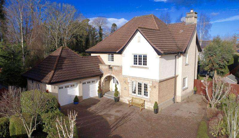 4 Bedrooms Detached House for sale in Shanter Wynd, Alloway, Ayr