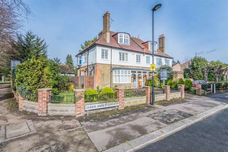 5 Bedrooms Semi Detached House for sale in Queen Annes Gardens, Bush Hill Park Conservation Area, Enfield