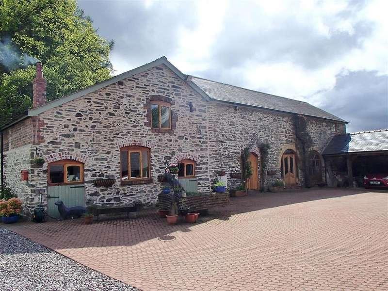 5 Bedrooms Barn Conversion Character Property for sale in Plas Celyn, Vivod, Llangollen