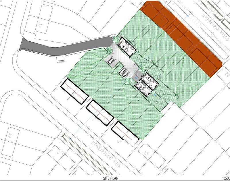 9 Bedrooms Plot Commercial for sale in Building Plot To Rear, Dovehouse Hill, Luton