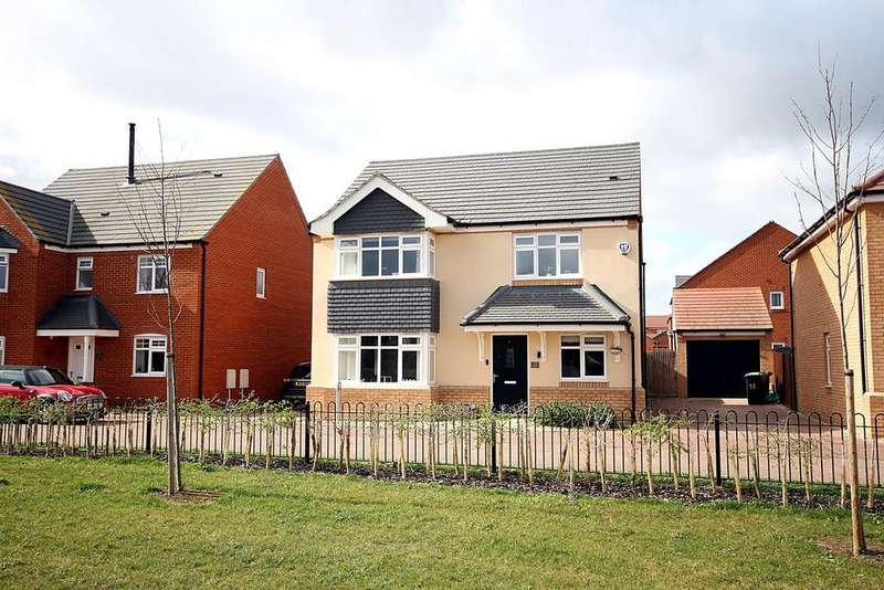 4 Bedrooms Detached House for sale in Chaffinch Green, Lower Stondon, SG16