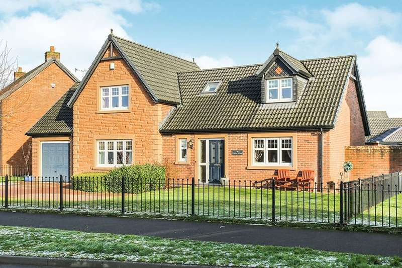 4 Bedrooms Detached House for sale in Birchwood Drive, Dumfries, DG1
