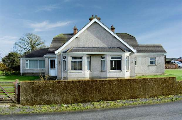 4 Bedrooms Detached House for sale in Loughdoo Road, Ardkeen, Newtownards, County Down
