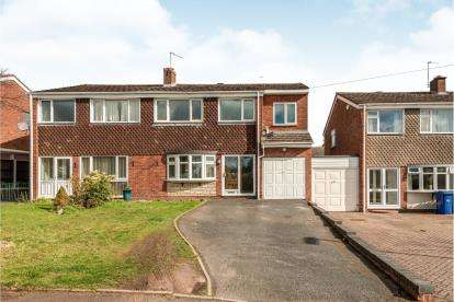 4 Bedrooms Semi Detached House for sale in Belmont Avenue, Cannock, Staffordshire