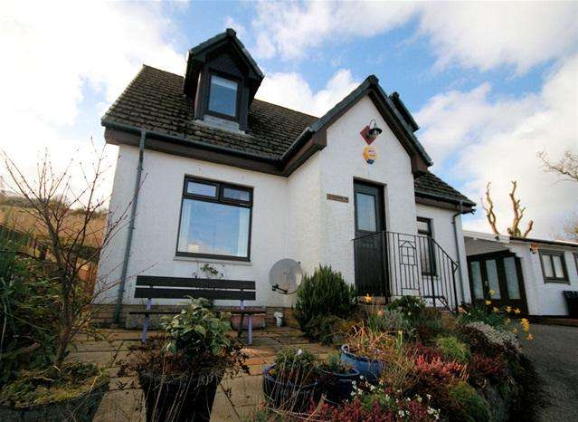3 Bedrooms Detached House for sale in Rhiannon, Kilduskland Road, Ardrishaig