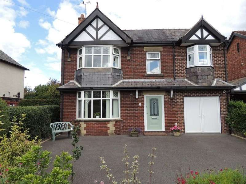 4 Bedrooms Detached House for sale in Nantwich Road, Middlewich