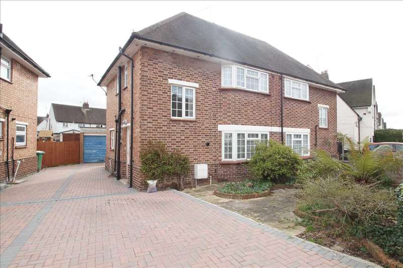 3 Bedrooms Semi Detached House for sale in St. Georges Crescent, Cippenham, Slough