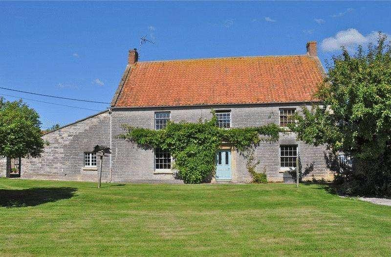 5 Bedrooms Detached House for sale in Godney, Between Wells Glastonbury