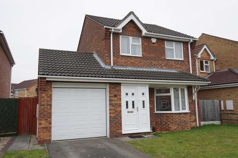 3 Bedrooms Detached House for sale in Thomas Gibson Drive, Horncastle