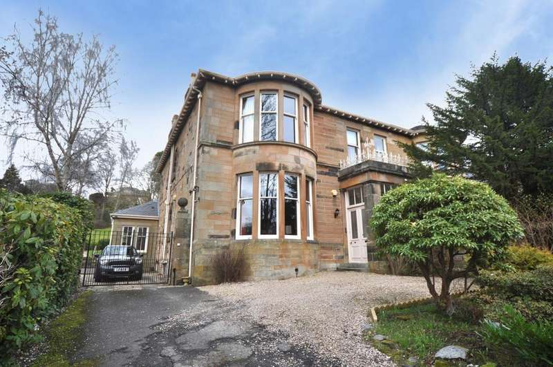 4 Bedrooms Semi Detached House for sale in 60 Glencairn Drive, Pollokshields, G41 4PR