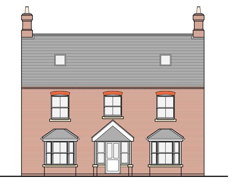 6 Bedrooms Detached House for sale in PLOT 3, STATION ROAD, TETNEY