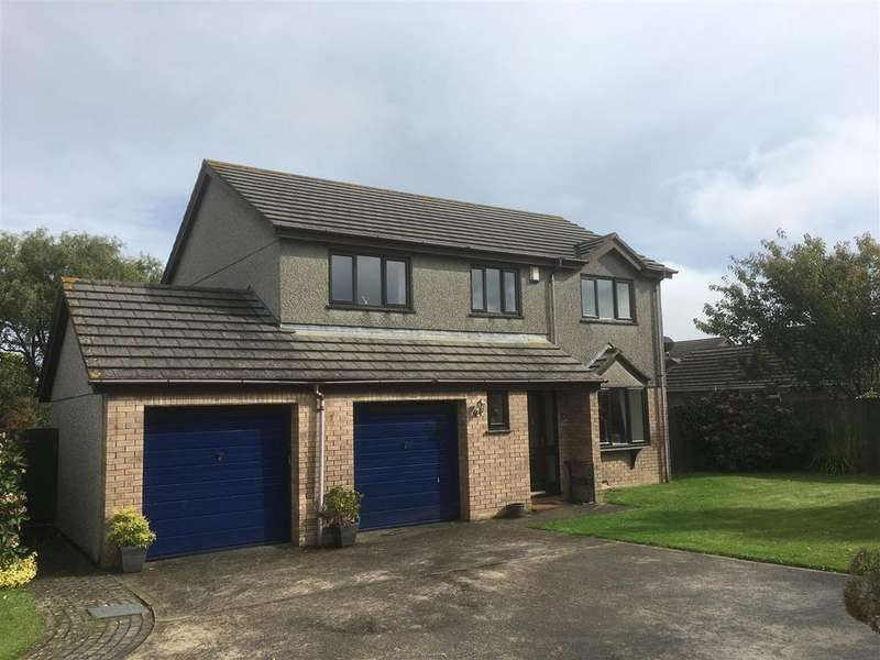 4 Bedrooms Detached House for sale in Merritts Way, Pool, Redruth