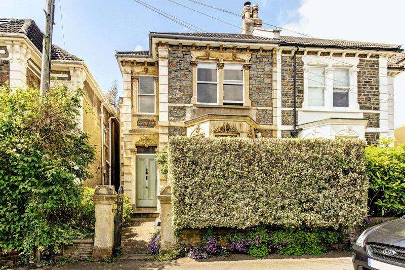 4 Bedrooms Semi Detached House for sale in Collingwood Road, Redland
