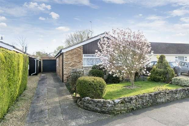 2 Bedrooms Detached Bungalow for sale in Cromwell Crescent, Market Harborough, Leicestershire
