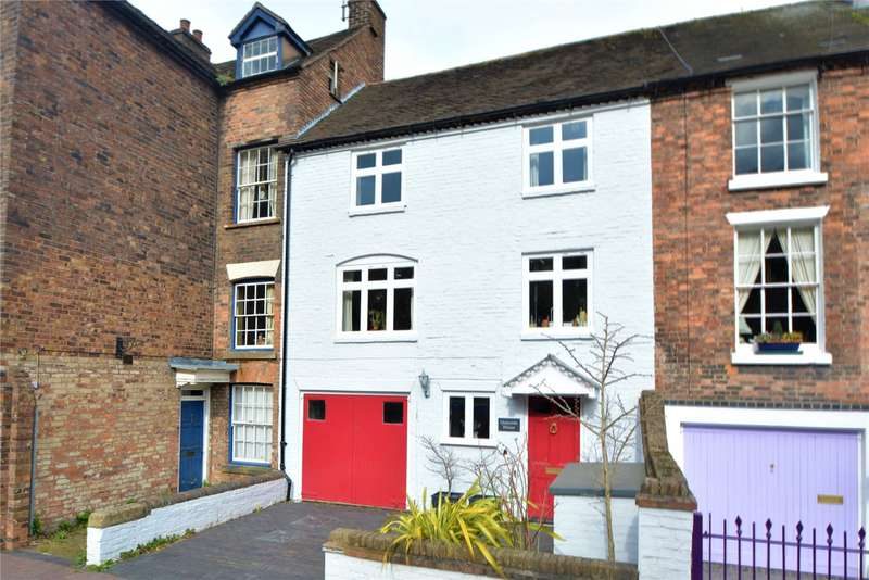 3 Bedrooms Terraced House for sale in Quayside, 13 The Wharfage, Ironbridge, Shropshire, TF8