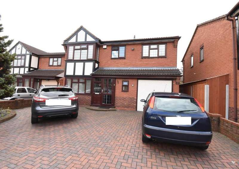 5 Bedrooms Detached House for sale in Johnson Close, Hodge Hill, Birmingham