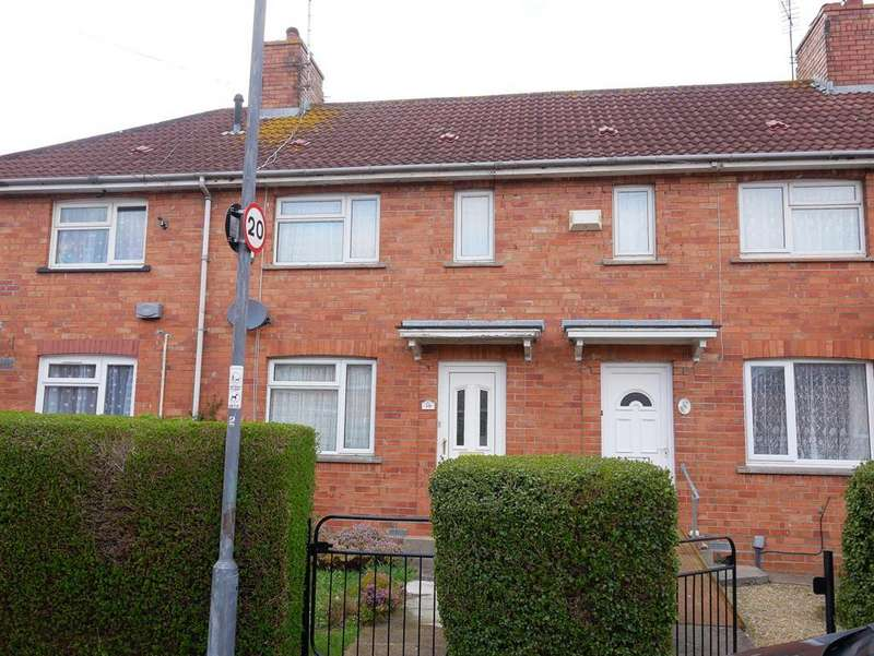 3 Bedrooms Terraced House for sale in Crediton Crescent, Knowle, Bristol, BS4 1DX