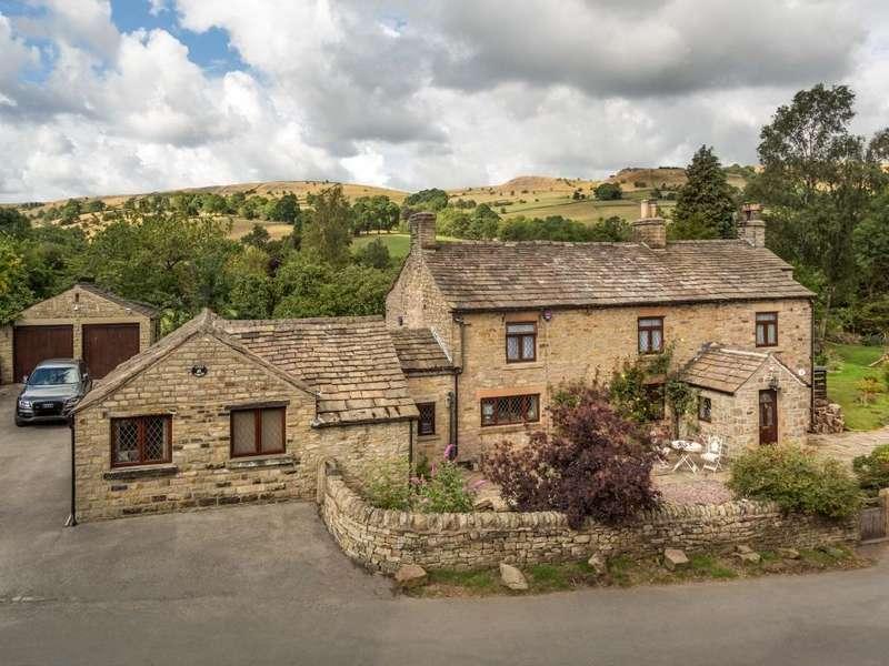 4 Bedrooms Detached House for sale in Combs, High Peak, Derbyshire, SK23 9UT