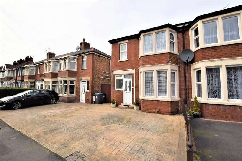 3 Bedrooms End Of Terrace House for sale in Harris Avenue, Blackpool, Lancashire, FY1 6NJ