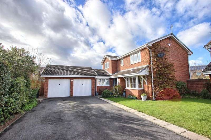 4 Bedrooms Detached House for sale in Lancaster Drive, Marske-by-the-Sea