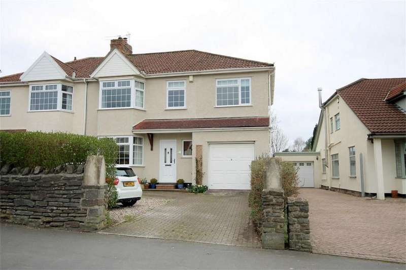 5 Bedrooms Semi Detached House for sale in Badminton Road, Downend, Bristol