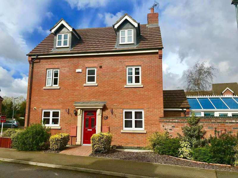 5 Bedrooms Detached House for sale in Livingstone Drive, Spalding, PE11