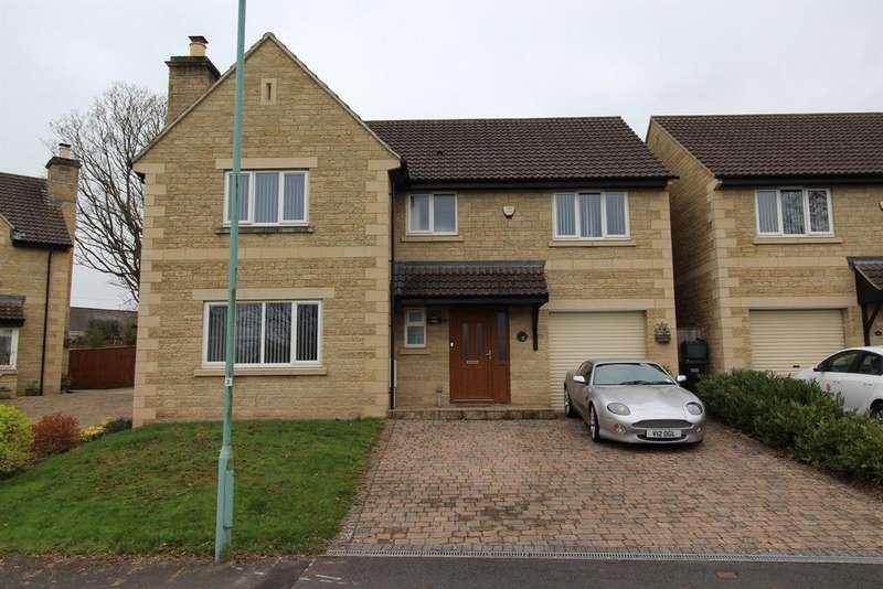 4 Bedrooms Detached House for sale in Claremont Gardens , Hallatrow, Somerset , BS39 6EY
