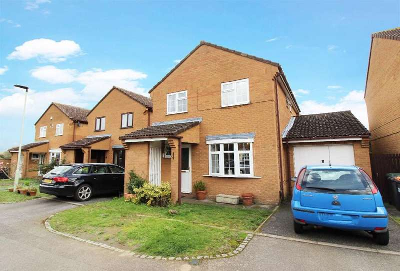 3 Bedrooms Link Detached House for sale in Donnelly Drive, Bedford MK41