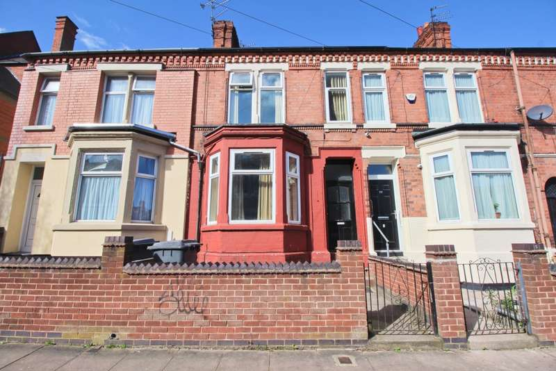 3 Bedrooms Terraced House for sale in Mere Road, Leicester, LE5