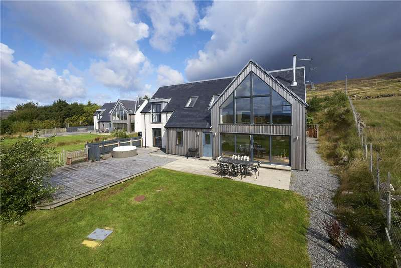 4 Bedrooms Detached House for sale in Stac Polly Lodge, 116 Polglass, Achiltibuie, Ullapool, IV26
