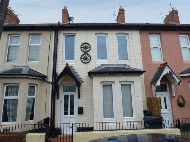 2 Bedrooms Terraced House for sale in Cyril Street, Newport