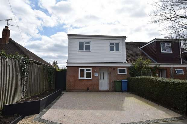 3 Bedrooms Semi Detached House for sale in Foxley Lane, Binfield, Bracknell, Berkshire