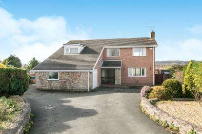 4 Bedrooms Detached House for sale in The Paddock, St Asaph, Denbighshire, Uk, LL17