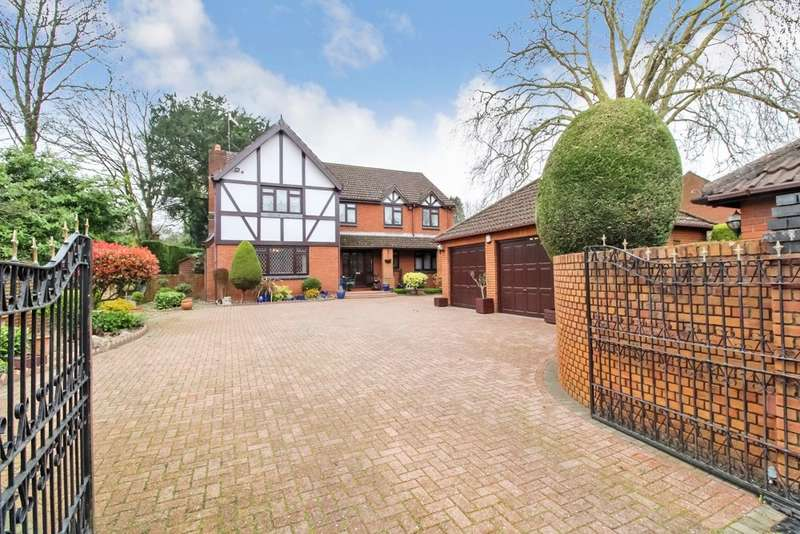 5 Bedrooms Detached House for sale in Churchmead, Bassaleg, Newport, NP10
